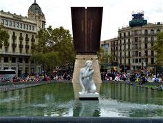 Апрель в Барселоне, Ramblas, gid
