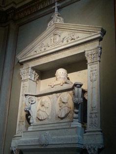 Il monumento funerario di papa Borgia