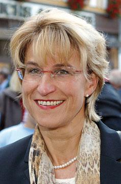 Bekannt für offene Ansagen:  Die engagierte Kirchbergerin  Gudrun Wilhelm.