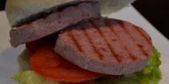 Hamburger grigliato di prosciutto cotto agrisalumeria luiset cibo salutare