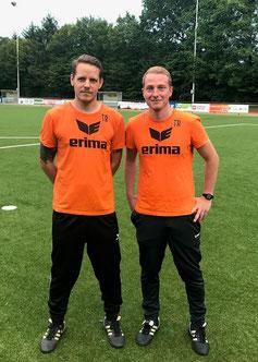 Kris Ulrich (l.) und Nick Stamm (r.)