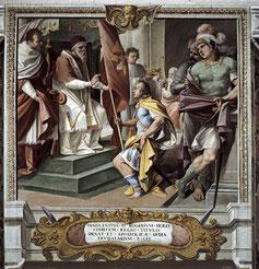 Dipinto Incoronazione di Ruggero II