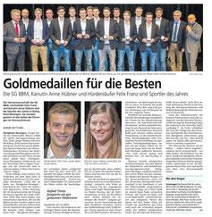 Bietigheimer Zeitung, 26.01.2015