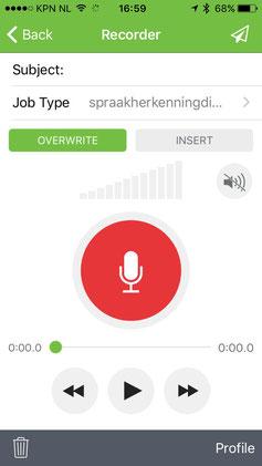 Winscribe app