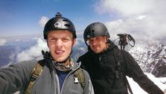 Am Gipfel der Zugspitze