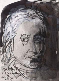 Matthias Claudius gezeichnet von Armin Mueller-Stahl, 2015