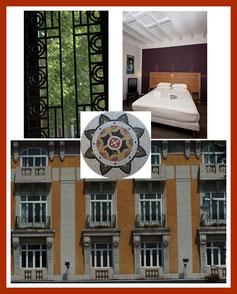 Détails décorations Hotel Moderne
