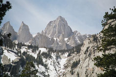 Mount Whitney - 4421m (Courtesy of Wikipedia)