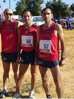 De izq. a der. Pedro Díaz, Juan Cabrera y Jaime Astals.