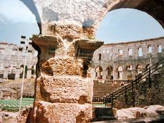 Amphitheater, Pula