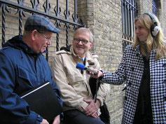 l-r. Siebe Siebenga, Rolf Laning en Froukje Sytsma