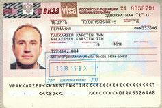 Visum Touristenvisum Visa Russia