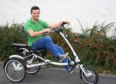 Berlin-Mitte: Dreiräder und Elektrodreiräder