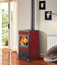 termostufa legna edilkamin italiana camini acqua