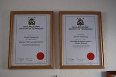 国際基準のカイロプラクティック専門院