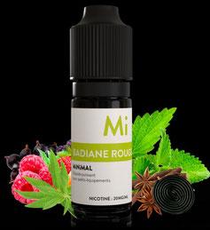 Minimal FUU - Red Aniseed - Sales de Nicotina