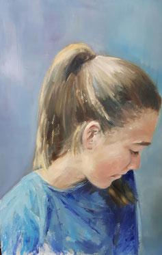 portret Juulke  niet te koop
