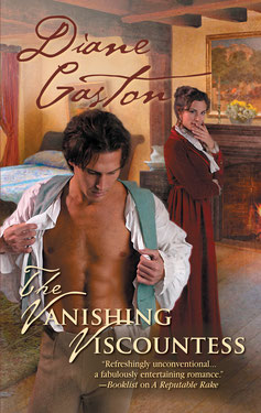 The Vanishing Viscountess by Diane Gaston