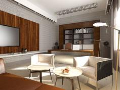 Интерьер коттеджа и квартиры