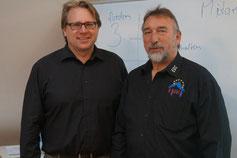 Referenten der Lehrerausbildung: Christoph Schomaker und Norbert Fritz