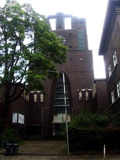 Die Heilig Kreuz Kirche Bochumer Straße Foto © W. Müller
