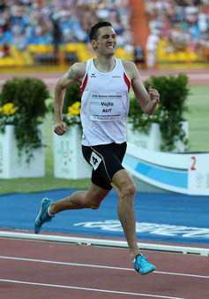 Andreas Vojta läuft zu Silber in Kazan, 2013