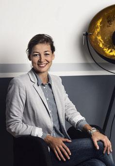 Sophie Uteß, Versicherungsmaklerin bei Vordenker (Foto von Liesa Fuchs)