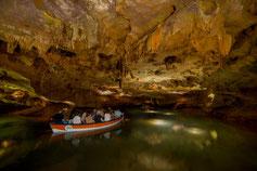 Höhlen Flussfahrt Stalagmit Stalaktit Vall D Uixo