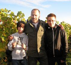 Vincent, Hartmut und Justus Bernhard