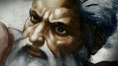 Jahwe, ein eindeutig männlicher Gott – und geschieden von seiner einstigen Frau und weiblichen Gegenstück Aschera.