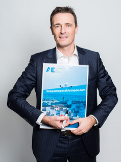 A4E Managing Director Thomas Reynaert  hopes that many will support the petition  -  courtesy A4E