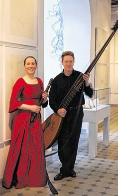 """Theresia und Christian Stahl bilden das Duo """"La Vigna"""", das am Sonntag in Stolberg auftritt. Foto: Veranstalter"""
