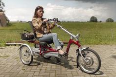 Dreirad Easy Rider: ideal für längere Reisen