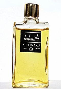 MOLINARD - HABANITA : ANCIENNE MINIATURE AVEC ETIQUETTE NOIRE