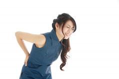 女性の腰痛とバスト