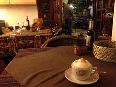 Das erste ordentliche Kaffee-Getränk seit meiner Ankunft.
