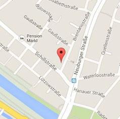 Hier geht es zur Anfahrtsbeschreibung der Zahnarztpraxis Gregorek in Augsburg-Lechhausen