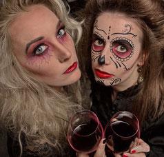 Halloween_Cindy und Madleen