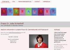 Referenz www.dr-jutta-schleithoff.de