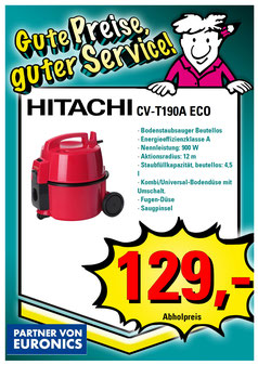 Hitachi CV-T190A eco