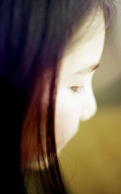 手術後に病室に来た娘をフィルムカメラで撮った大切な1枚