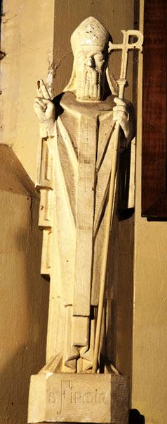 Eglise d'Auchonvillers:  saint Firmin