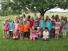 Der Kinderchor Juni 2012