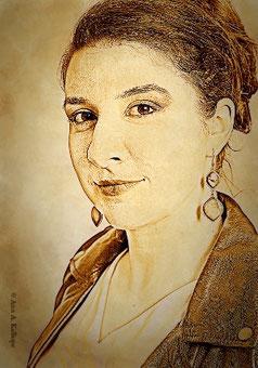Ann A. Kalliope, Autorin des Fantasy-Romans Koboltfeuer