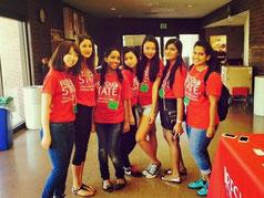 CSUフレズノの留学生とのボランティア