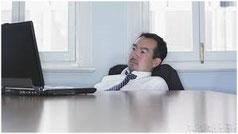 デスクワーク姿勢による疲労