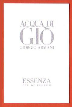 ACQUA DI GIO - ESSENZA - 2012