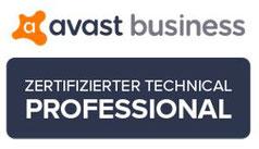 Avast Technical Professional Logo