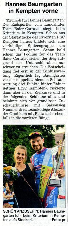 Quelle: Landshuter Zeitung 13.07.2016