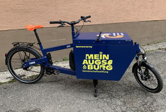 Freiwilligen-Zentrum Augsburg - Lastenrad zum Ausleihen